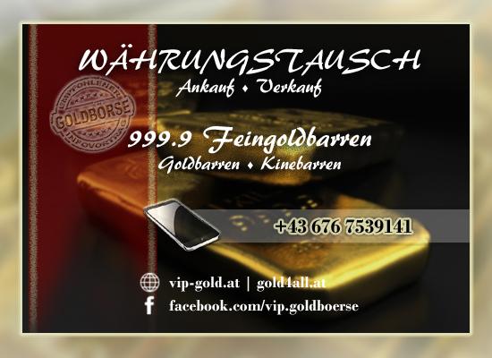 VIP-Gold :: Goldbarren